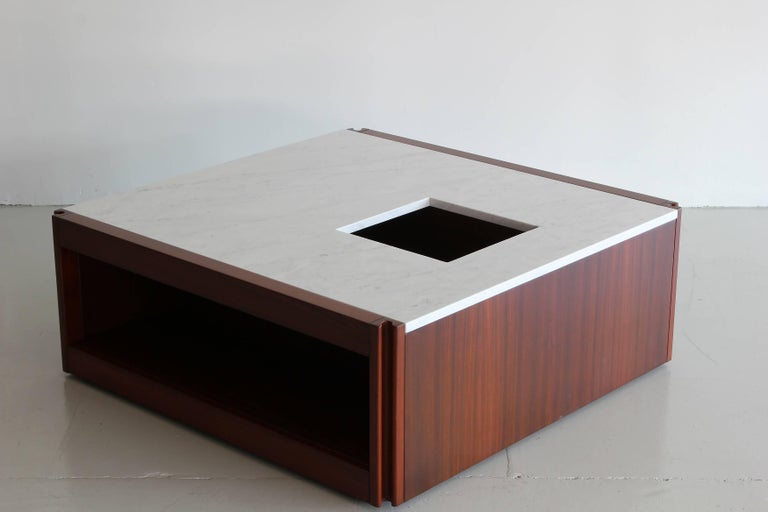Mid-20th Century Marble Coffee Table by Angelo Mangiarotti For Sale