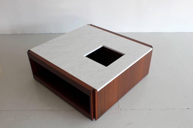Marble Coffee Table by Angelo Mangiarotti For Sale 1