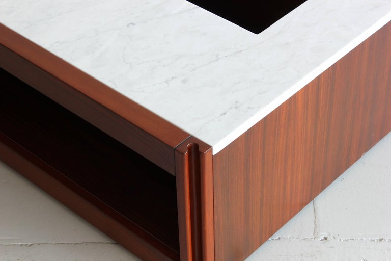 Marble Coffee Table by Angelo Mangiarotti For Sale 2