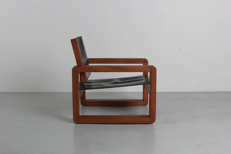 Armchair in the Style of Pierre Chapo In Excellent Condition For Sale In Los Angeles, CA