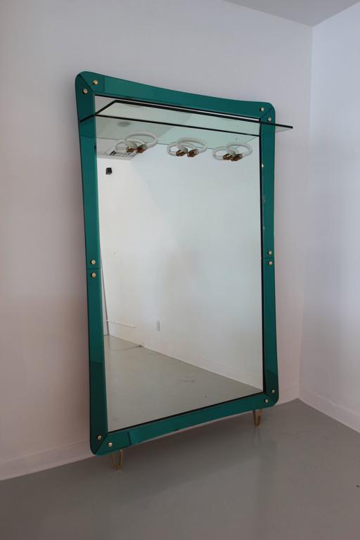 Rare Cristal Art Mirror For Sale 2
