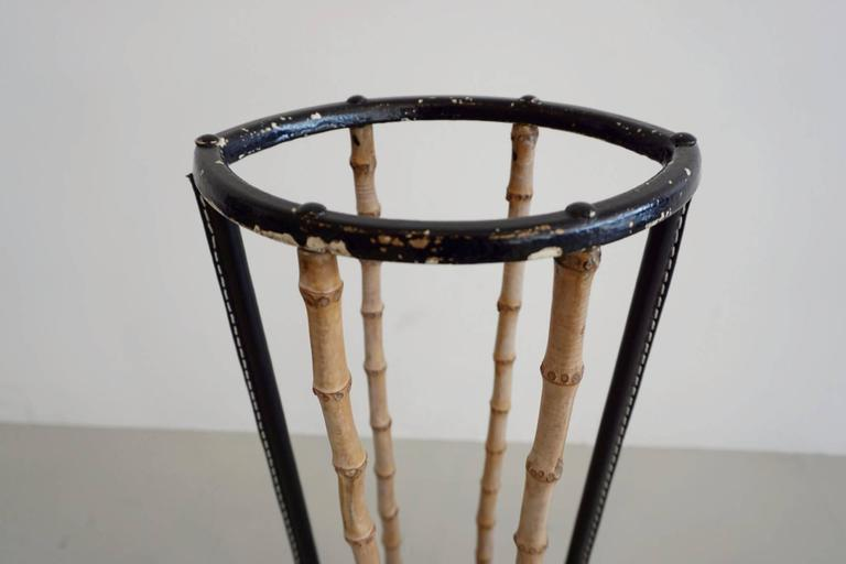 Umbrella Stand in the Style of Jacques Adnet 2