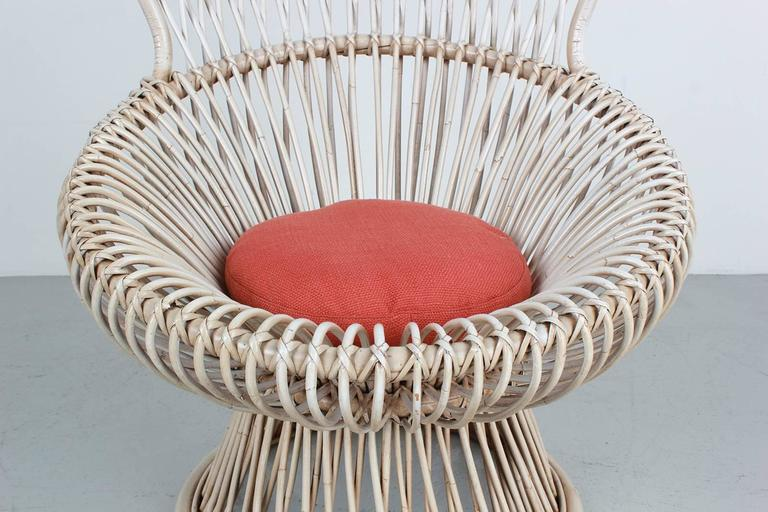 Pair of Margherita Chairs by Franco Albini For Sale 2