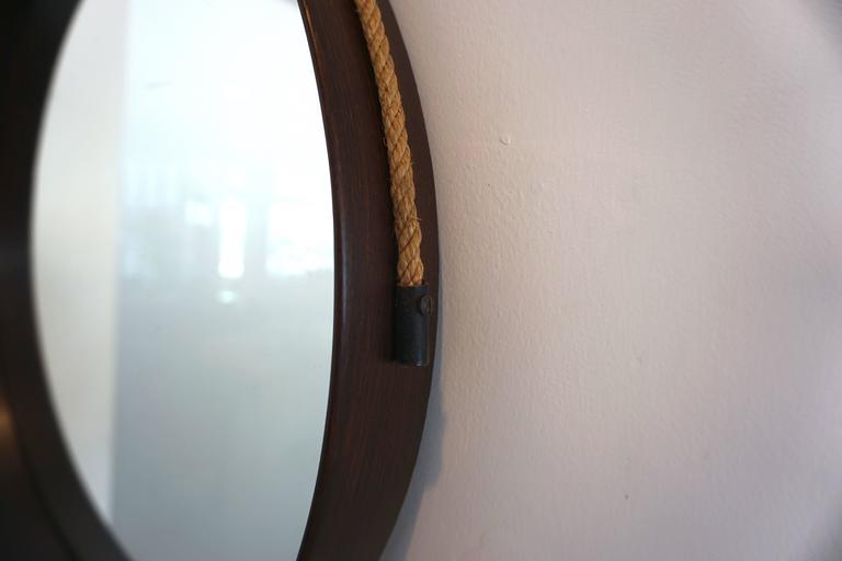 Italian Walnut Mirror 2