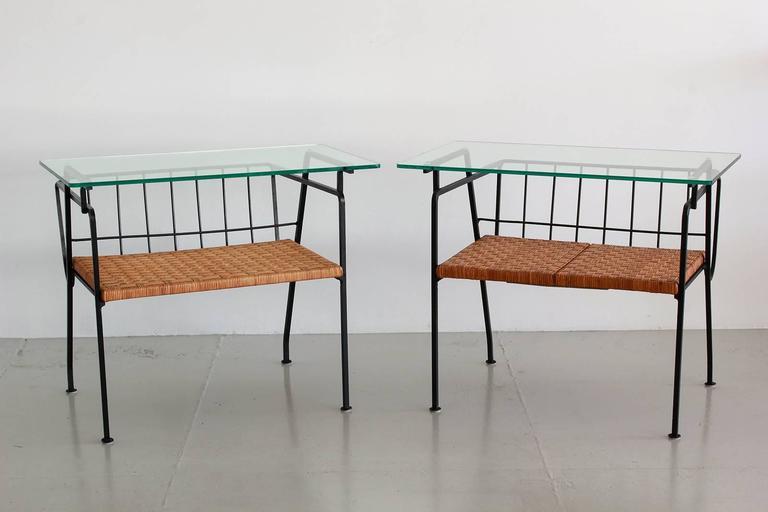 Arthur Umanoff Style End Tables 6