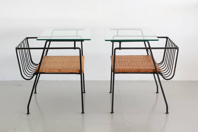 Arthur Umanoff Style End Tables 7
