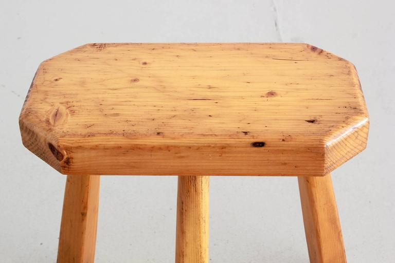 French Perriand Style Stools For Sale 1