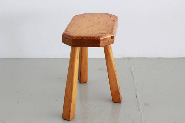 French Perriand Style Stools For Sale 2