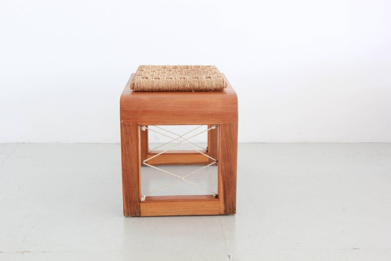 French Royere Style Stools For Sale
