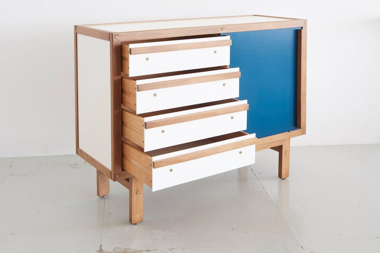 Mid-20th Century Andre Sornay Sideboard For Sale