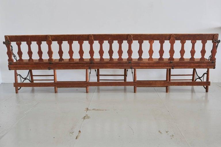 Victorian Train Bench 2