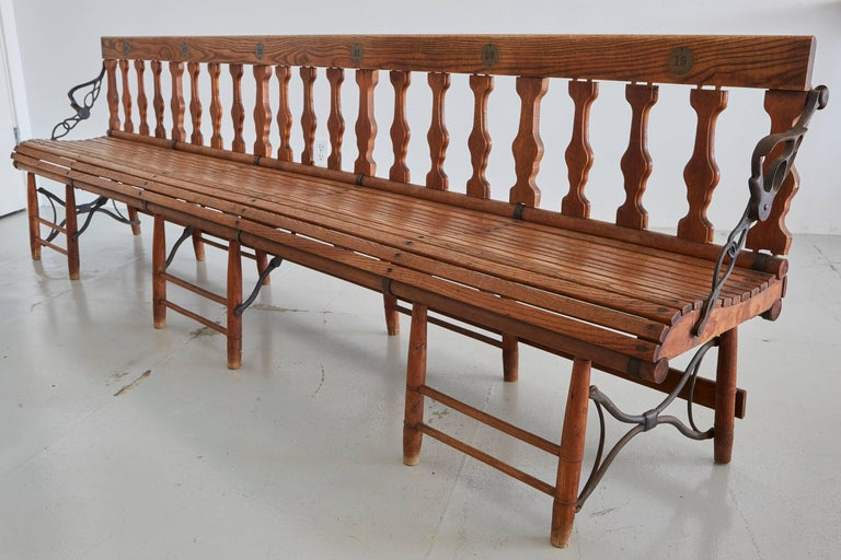 Victorian Train Bench At 1stdibs