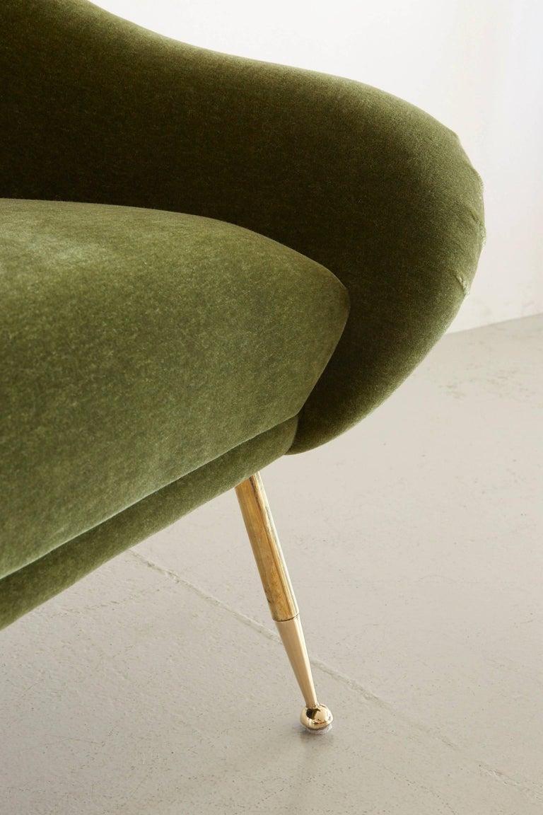 Italian Slipper Chair 6