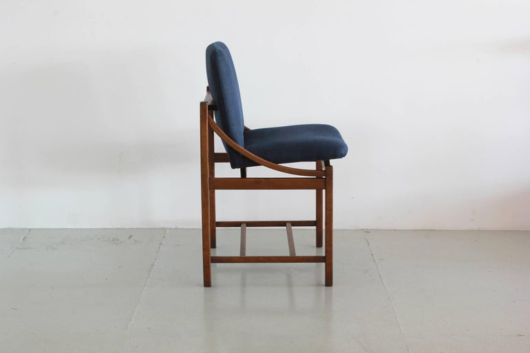 Italian Bentwood Dining Chairs  In Good Condition For Sale In Los Angeles, CA
