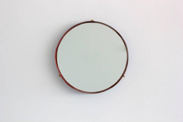 Italian Ceramic Metal Mirror 6