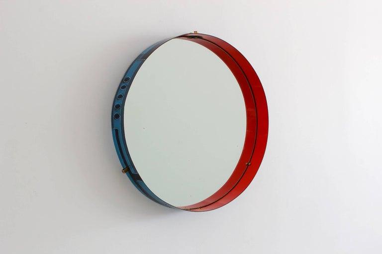 Italian Ceramic Metal Mirror 2