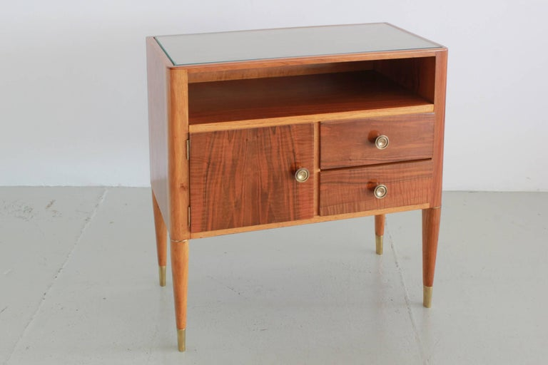 Mid-Century Modern Paolo Buffa Nightstands For Sale