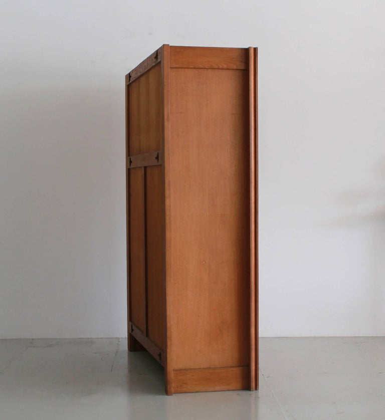 French Guillerme et Chambron Open Shelf Cabinet For Sale