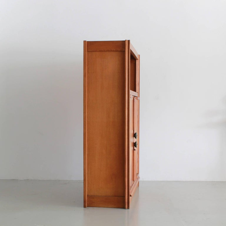 Guillerme et Chambron Open Shelf Cabinet In Good Condition For Sale In Los Angeles, CA