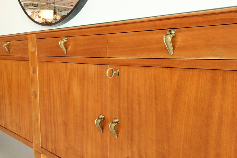 Grand Buffet, attributed to Emilio Lancia, circa 1940's In Good Condition For Sale In Los Angeles, CA