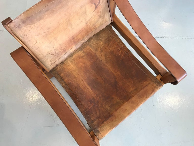 Leather Chair by Pierre Chapo 8