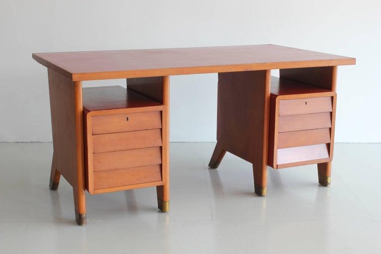Italian Gio Ponti Administrative Desk, Italy, 1949 For Sale
