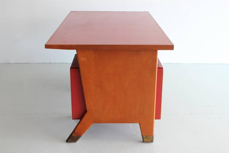 Mid-20th Century Gio Ponti Administrative Desk, Italy, 1949 For Sale