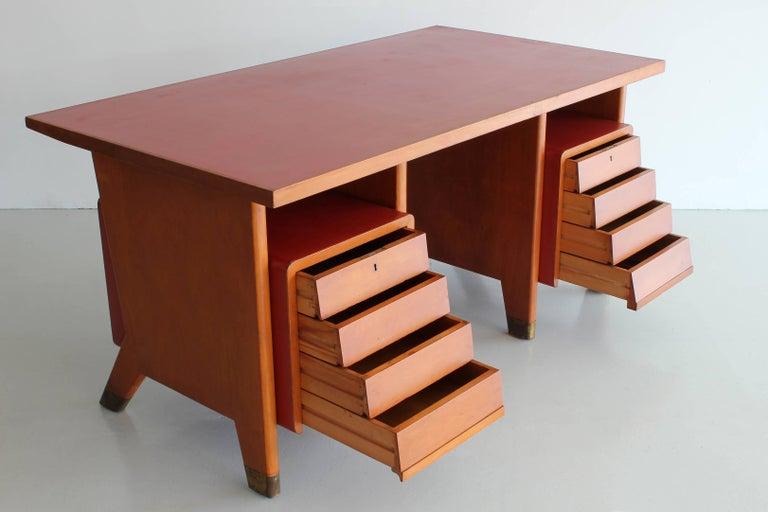 Gio Ponti Administrative Desk, Italy, 1949 For Sale 1