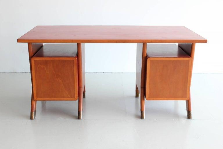 Gio Ponti Administrative Desk, Italy, 1949 For Sale 2
