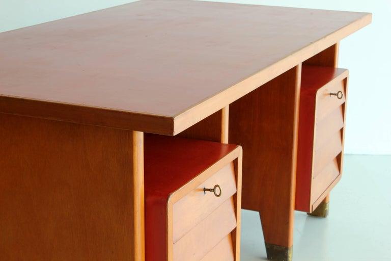 Gio Ponti Administrative Desk, Italy, 1949 For Sale 3