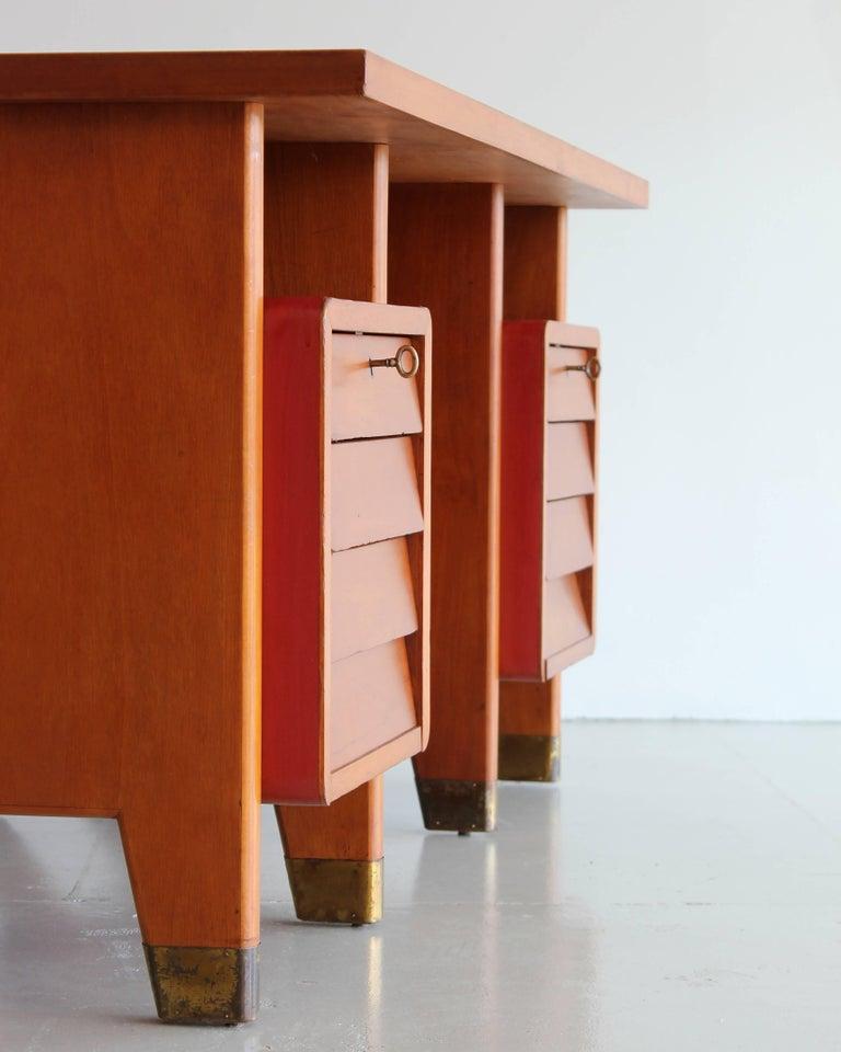 Gio Ponti Administrative Desk, Italy, 1949 For Sale 4