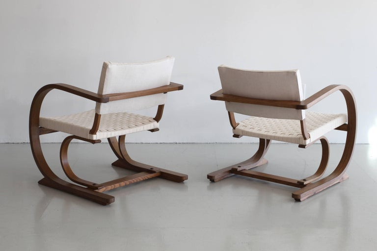 1950s French Bentwood Chairs 3