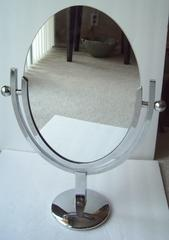 Charles Hollis Jones Vanity Chrome Mirror