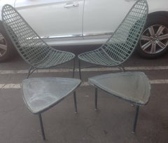 "John Caldwell for Brown Jordan ""Mai Tai"" Lounge Chairs and Tables"