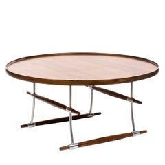 Jens Quistgaard, Stokke, Rosewood Coffee or Cocktail Table for Nissen