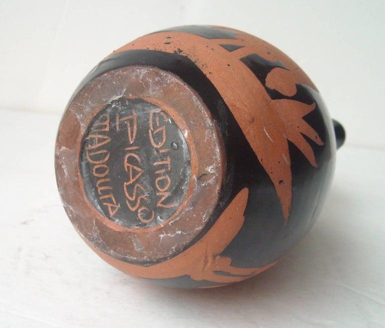 Modern Pablo Picasso Ceramic Pitcher Title
