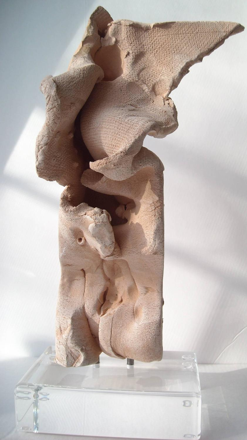 Emerson Woelffer Clay Sculptures Abstract Signed And