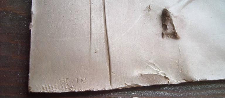 """Robert Graham Bronze Plaque, """"Sculpture, Dancers"""" Numbered Mounted 3"""