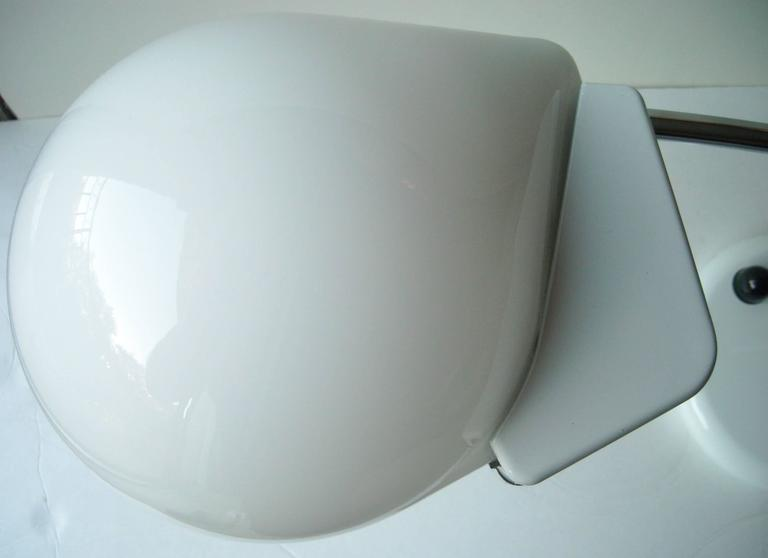 Nice white glass enamel white base, table lamps and halogen light table or desk lamps.