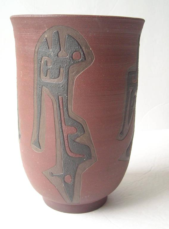 Leonard Waegell Edmondson, Ceramic Vase, Dated, Signed, 1953 4
