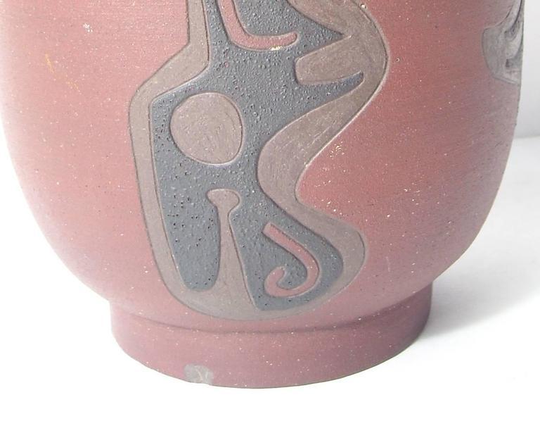Leonard Waegell Edmondson, Ceramic Vase, Dated, Signed, 1953 5