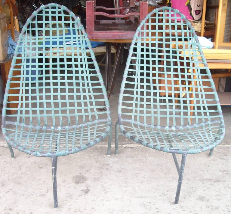 "John Caldwell for Brown Jordan ""Mai Tai"" Lounge Chairs and Tables 2"