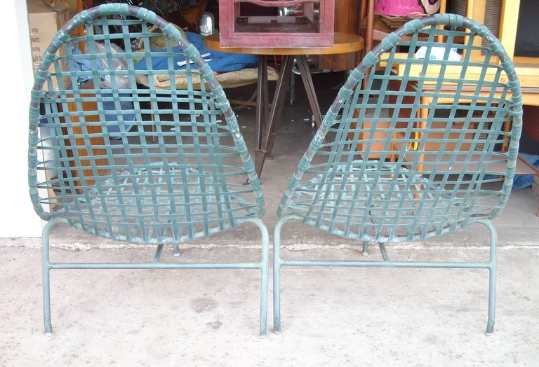 "John Caldwell for Brown Jordan ""Mai Tai"" Lounge Chairs and Tables 3"