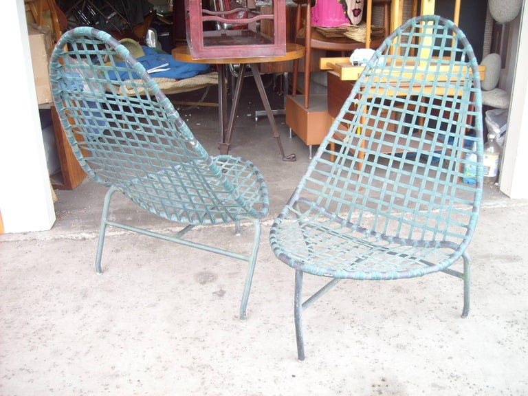 "John Caldwell for Brown Jordan ""Mai Tai"" Lounge Chairs and Tables 5"
