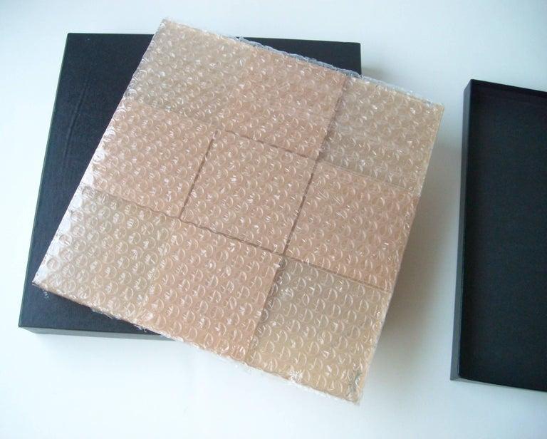 Shlomi Haziza Studio, Acrylic/Lucite Tic Tac Toe Board, Sculpture in Box 3