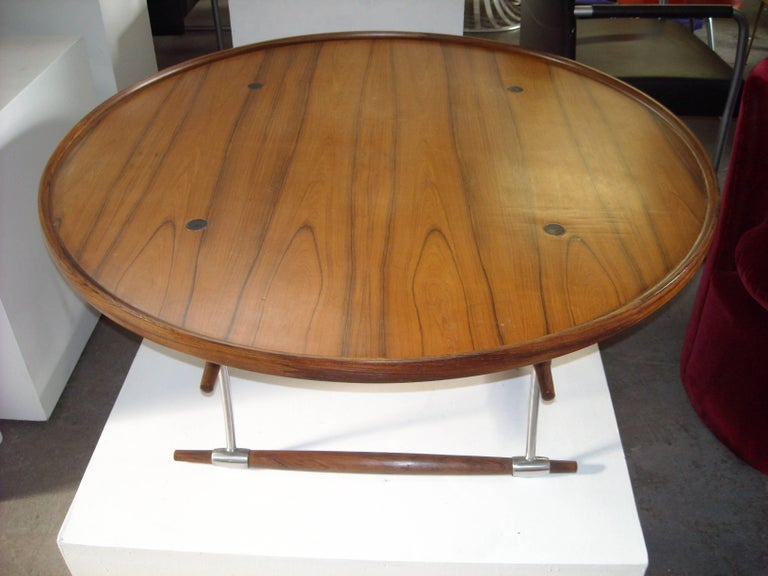 Amazing and rare rosewood coffee table by Jens Quistgaard, this is one of his signature pieces.