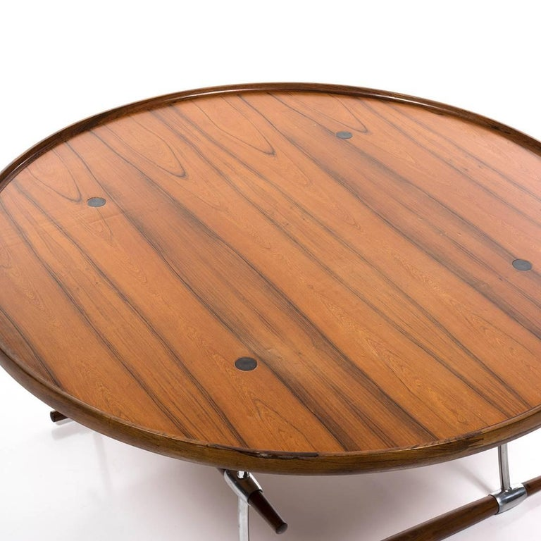 Jens Quistgaard, Stokke, Rosewood Coffee or Cocktail Table for Nissen In Excellent Condition For Sale In Los Angeles, CA