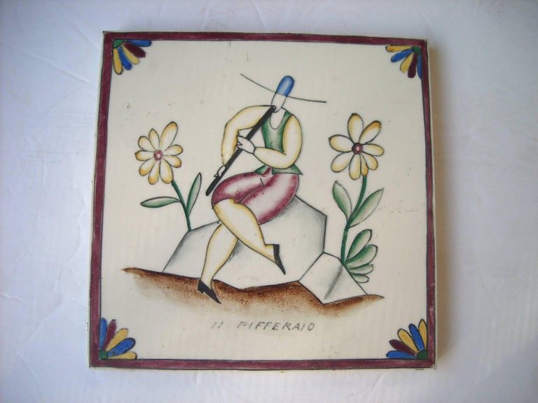 Gio Ponti Tile or Ceramic for Richard Ginori, Title