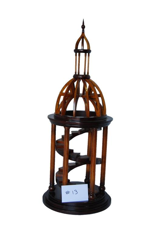 Carved Wood Bell Tower Model 3