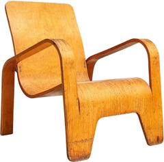 """Lawo"" Lounge Chair by Han Pieck"